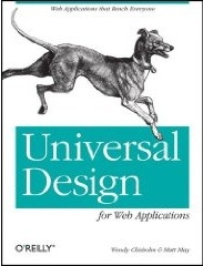 Universal Design for Web Applications book cover